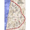 Mapa de las líneas de telefonía 1966 (grande)