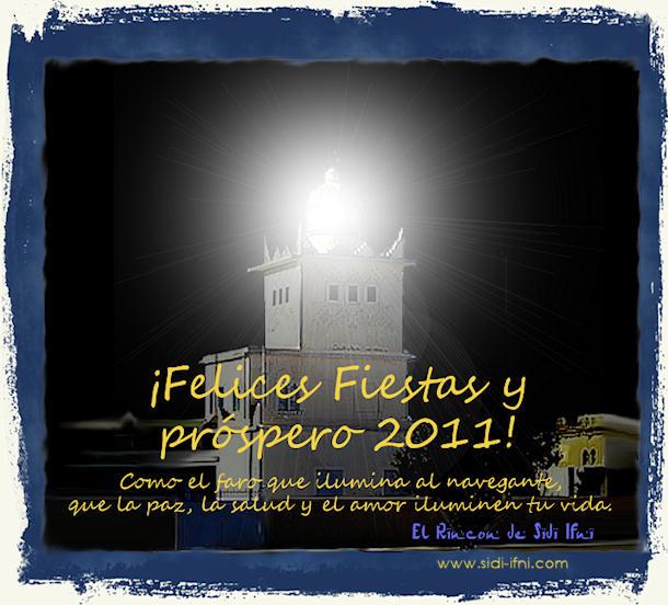¡Felices Fiestas y próspero 2011!