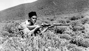 Pepe Guerra, uno de los casi 800 canarios que lucharon en la contienda de Sidi Ifni. (Foto: Fedac)