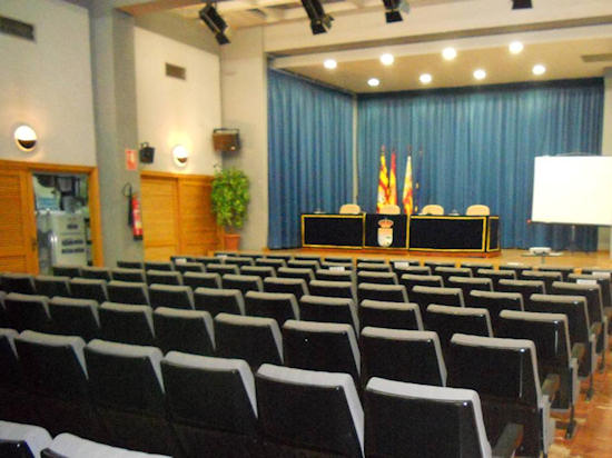 Sala Ramón Llull de la Biblioteca Municipal de El Campello (Alicante).